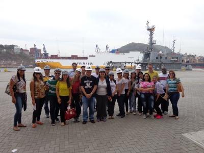 PCGN 2015: visita técnica à Codesa no último dia de aula