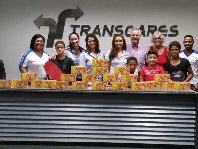 Transcares e Lar Semente do Amor: doações e Páscoa ainda mais feliz!