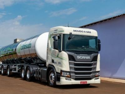 Scania produzirá caminhão a gás no Brasil