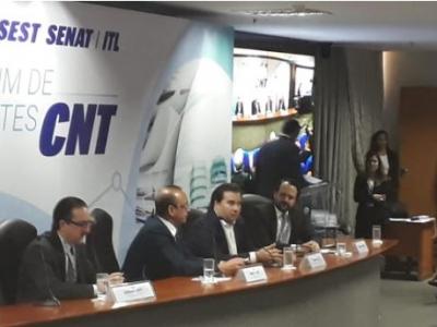 Representantes da NTC participam de fórum sobre a reforma tributária em Brasília