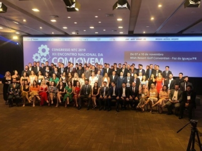 Comjovem-ES comemora ano e aponta perspectivas para 2020 em Encontro Nacional, no Sul
