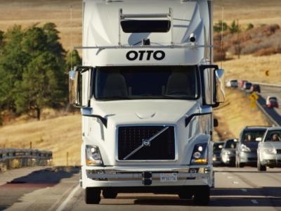 Extra! Extra! Caminhão autônomo do Uber faz sua primeira entrega
