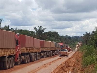 Tráfego na BR-163, no Pará, é totalmente liberado