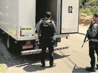 Cargas roubadas são vendidas no comércio regular, diz polícia