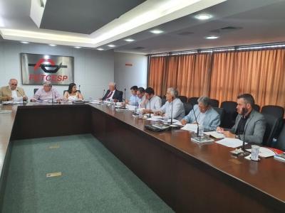 Diretoria da FETCESP analisa projeto de lei do Marco Regulatório do TRC
