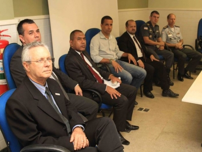 Superintendente do Transcares fala de trânsito a agentes de Cariacica