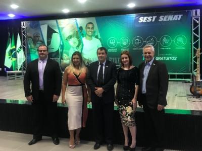 Inaugurada a nova unidade do Sest Senat Serra