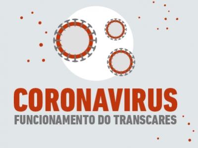 CORONAVÍRUS: Funcionamento do Transcares